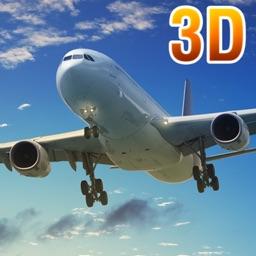 Real Airport Flight Airplane Sim 3D Simulator