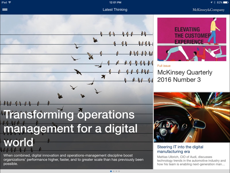 McKinsey Insights截图1