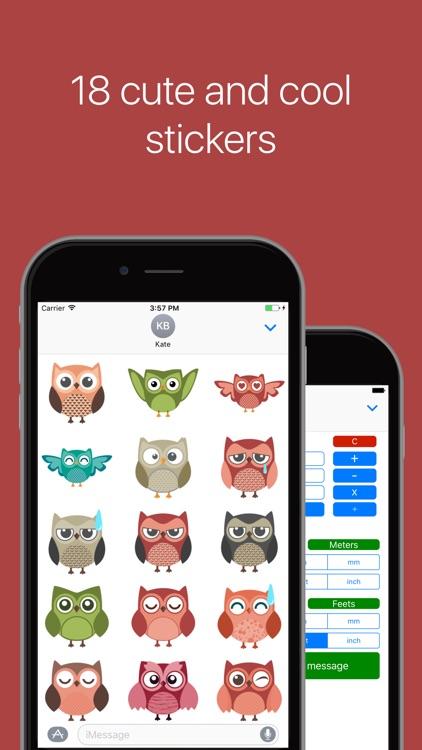Owl Fever Stickers 2