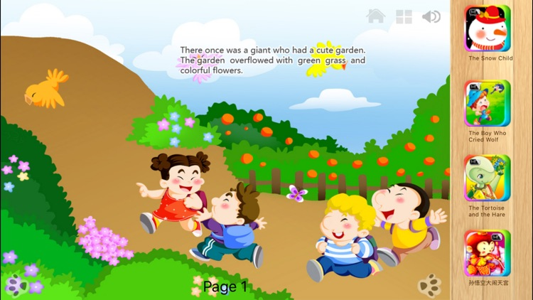 The Selfish Giant - Interactive Book by iBigToy screenshot-3