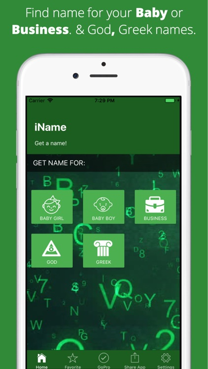 iName - Get a Name screenshot-0