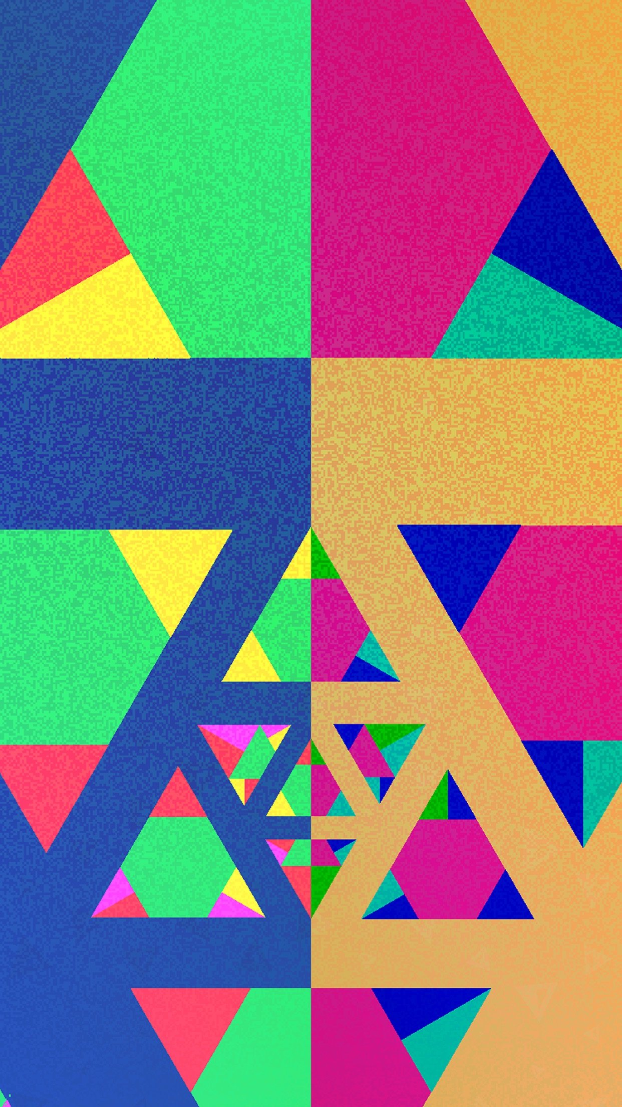 Screenshot do app YANKAI'S TRIANGLE