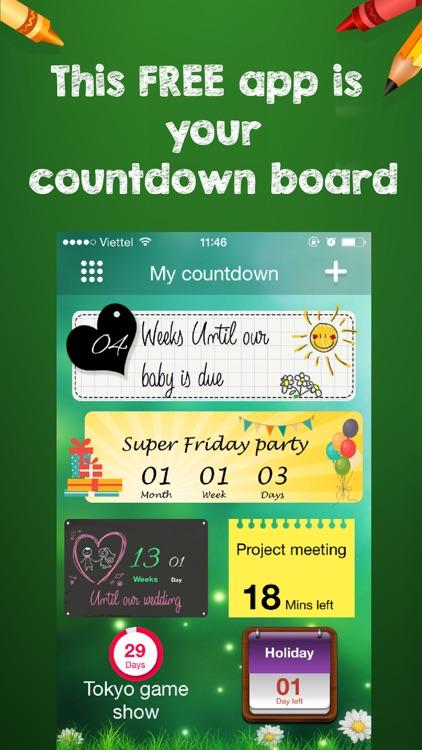 Countdown widget - Fancy styles countdown timer