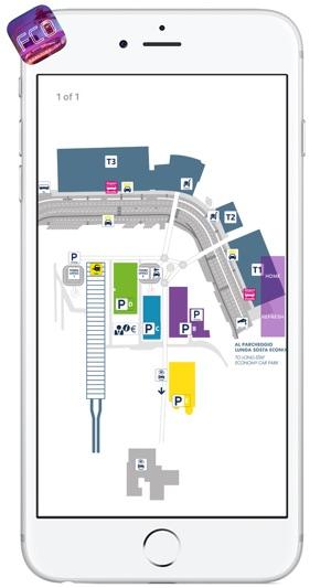 FCO AIRPORT Realtime Info Map More FIUMICINOLEONARDO DA VINCI