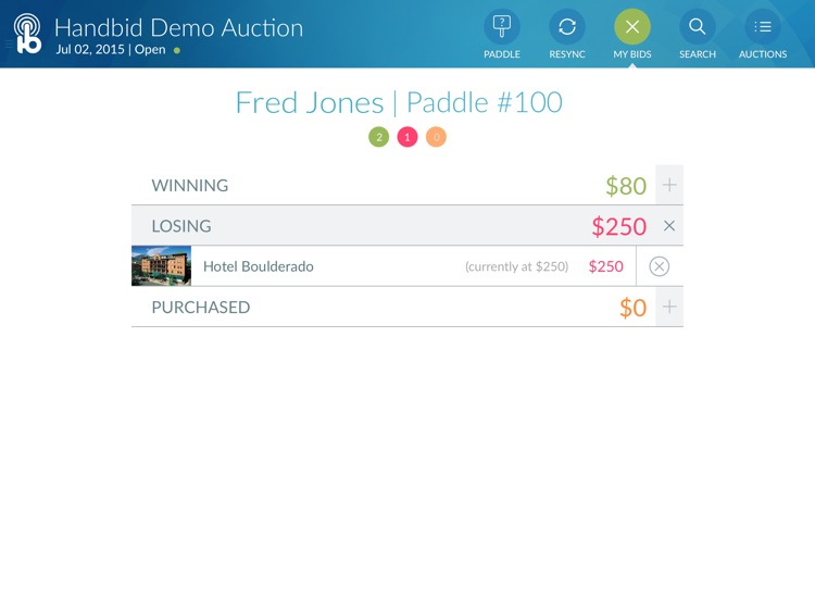 Handbid for iPad screenshot-4