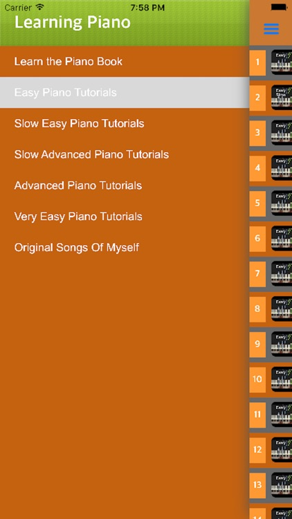 Play Piano - How to learn Piano with videos screenshot-4