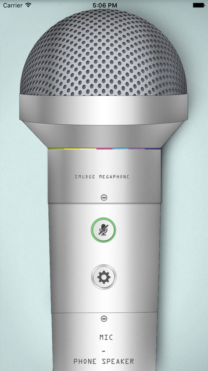 Megaphone: turn your device into a microphone Screenshot