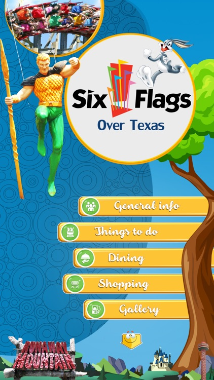 Great App for Six Flags Over Texas