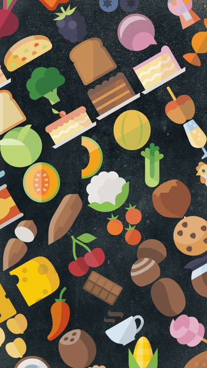 Food Flatstickers