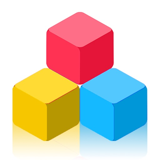 Super Block, the Clashy Colors Tiles iOS App
