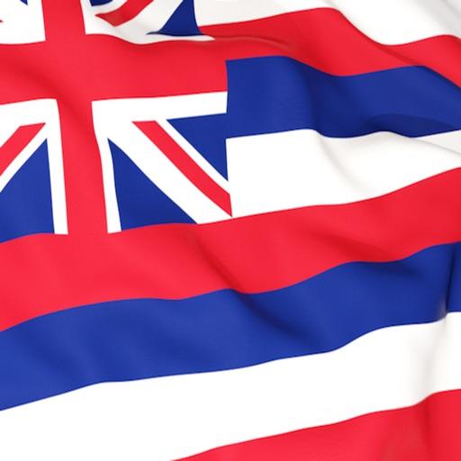 Hawaii Flag Stickers