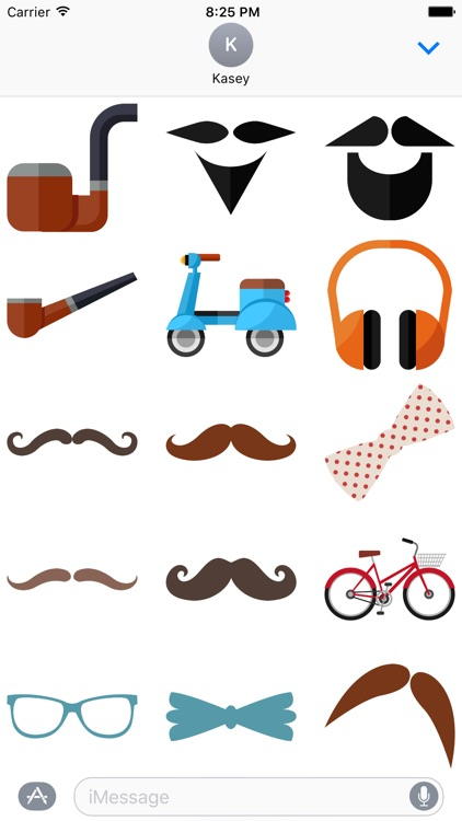 Hipster Stickers Pack