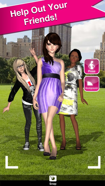 Style Me Girl - Free 3D Fashion Dressup screenshot-3