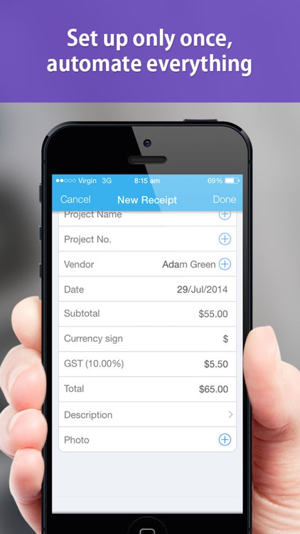 Receipt capture Pro - Scan & collect receipts