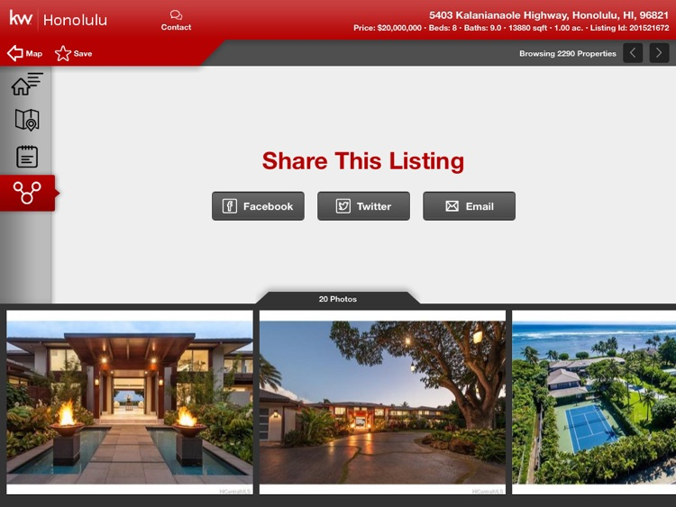 Keller Williams Realty Real Estate Search for iPad screenshot-3