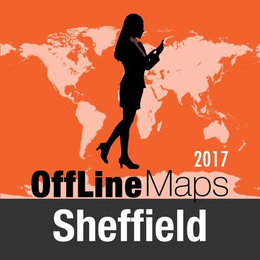 Sheffield mapa offline y guía de viaje