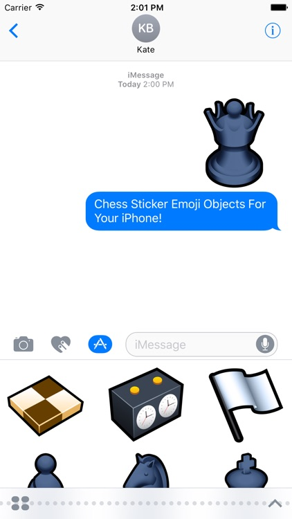 Emoji Objects : Chess Stickers