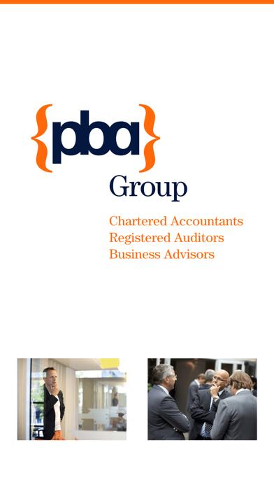 PBA Group Accountants screenshot one
