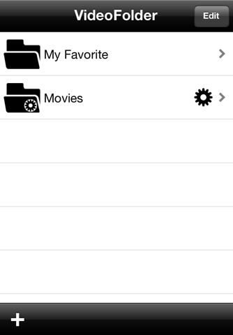 VideoFolder - náhled