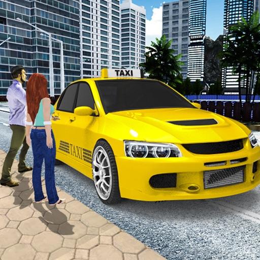 современный город такси вождения симулятор 3D : конечной езды