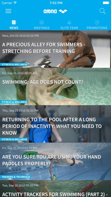 SwimIn - Swimming news & tips