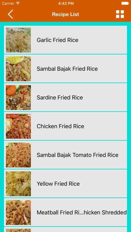 Fried Rice Cooking Creations HD screenshot-3