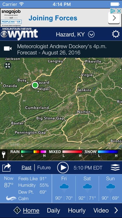 WYMT Radar screenshot-0