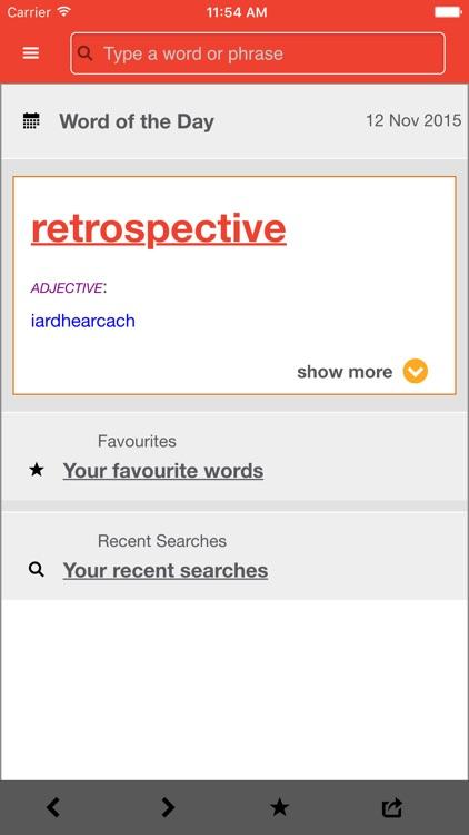 New English-Irish Dictionary