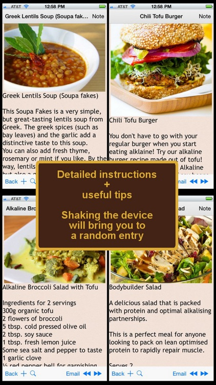 150 Alkaline Diet Recipes screenshot-1