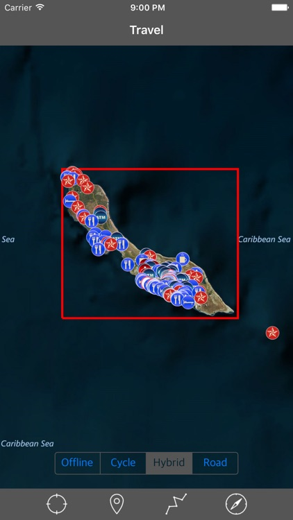 CURACAO – GPS Travel Map Offline Navigator screenshot-0