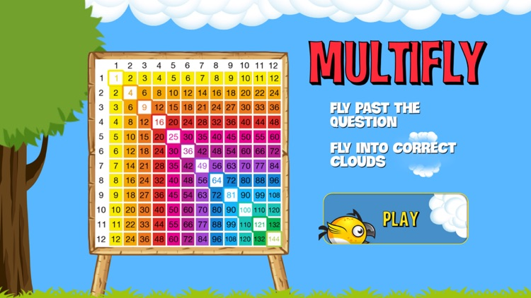 MULTIFLY - (School Edition) Geek Beak's Mastery of the Times Table