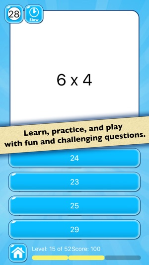Multiplication Practice — Learn Basic Math Facts on the App Store
