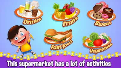 Kids Supermarket Shopping Adventure - Learn Fruits & Vegetables screenshot three