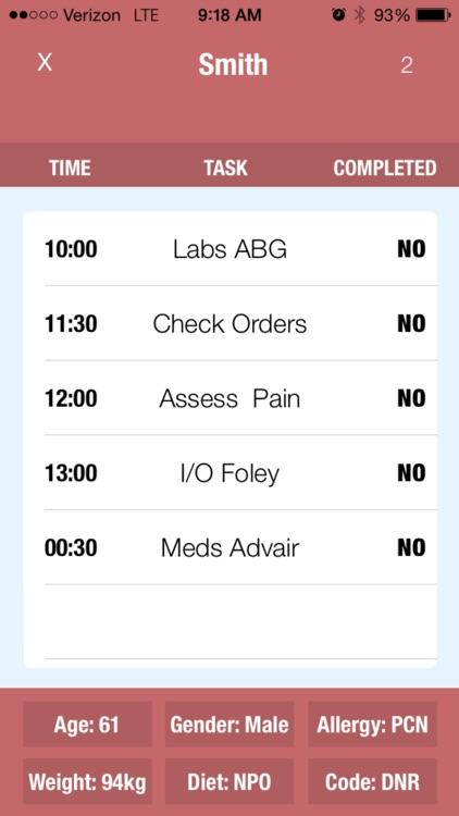 Nurse Notes screenshot-4