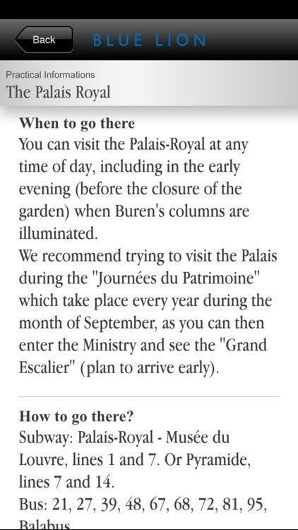 Paris - The Palais-Royal, between power & culture screenshot-4