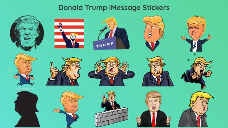 Donald Trump Funny Comic Emoji