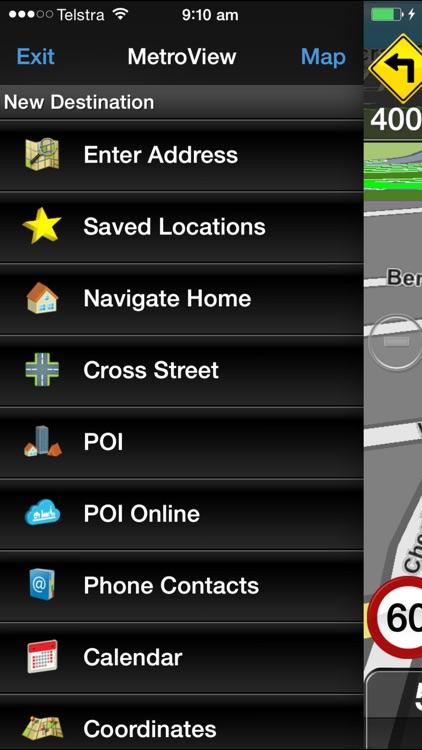 MetroView GPS Navigation screenshot-3