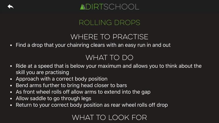 Dirt School Mountain Bike Skills screenshot-3