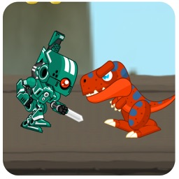 Real Robot Fighting Game 2016 -  Shoot Dinosaur with Robot Gun