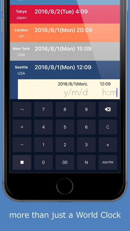 WTimeCalc to make the schedule for citizens of the world