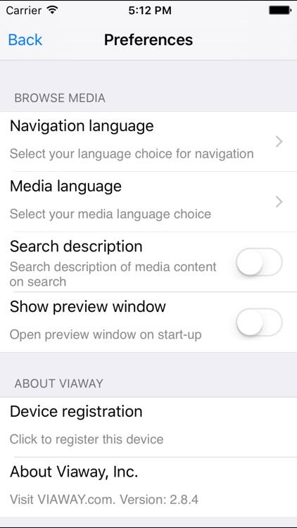 Viaway - International TV, Films, Radio & Video screenshot-4