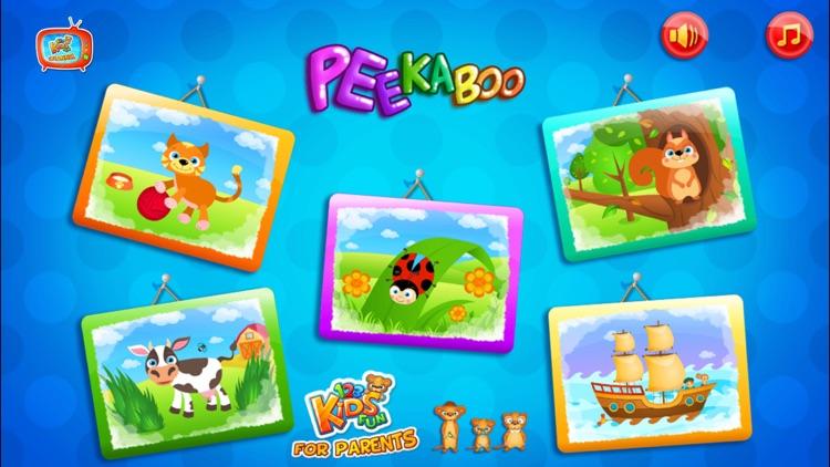 123 Kids Fun PEEKABOO Preschool & Toddler Games screenshot-4