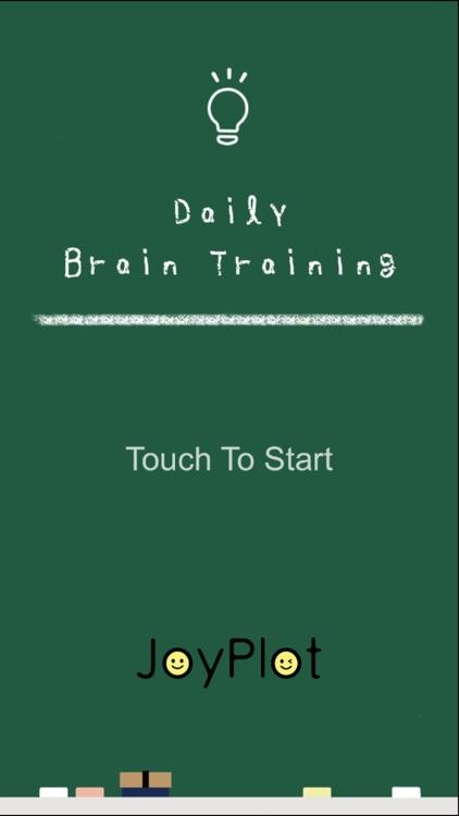 Daily Brain Training - many brain trainings