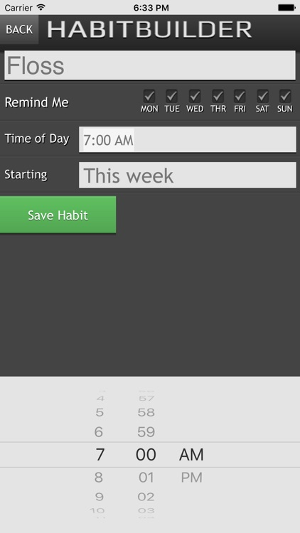 Habit Builder - Positive Habits