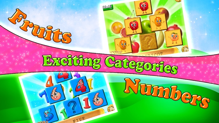 Preschool Memory Match & Learn - Educational Games screenshot-4
