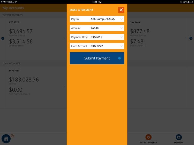 SunTrust Tablet App