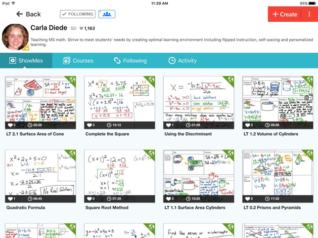 ‎ShowMe Interactive Whiteboard Screenshot