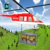 Helicopter Rescue Animal Transport