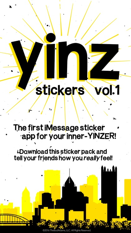 Yinz Stickers: Volume 1