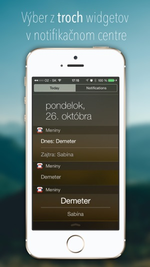 a50e6cd11 Kalendár mien SK v App Store